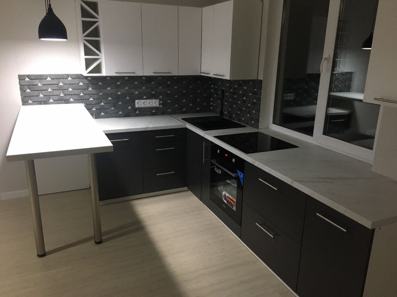 Угловая кухня из ЛДСП